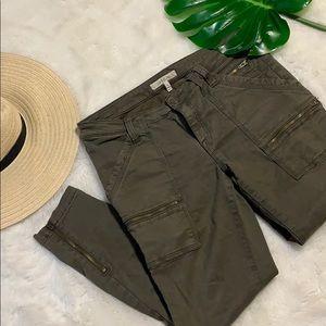 Joie Okana Skinny Cargo Pants fatigue  size 31